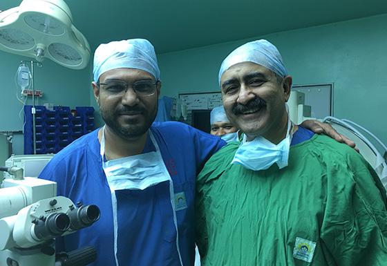 Our Surgeon team