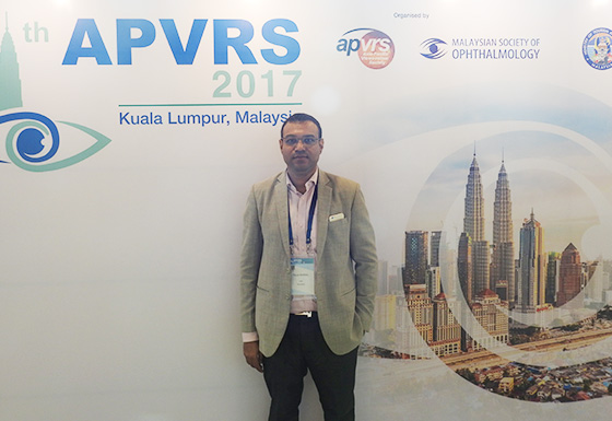 At the APVRS conference in Kaula Lumpur, Malaysia