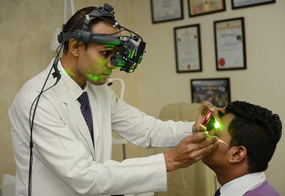 BVI Camp Patient Laser
