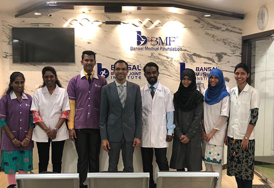 BVI Wanowrie Dr Piyush Bansal & Staff