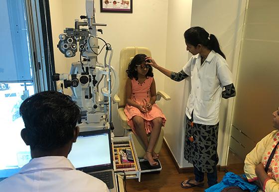 BVI Wanowrie Patient Refraction