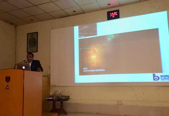 Faculty lecture at AFMC, Pune