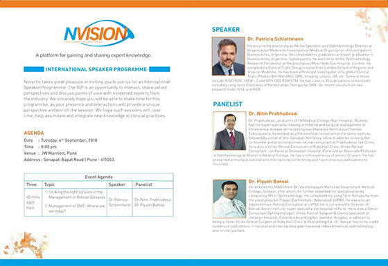 Invited expert panel at NVISION