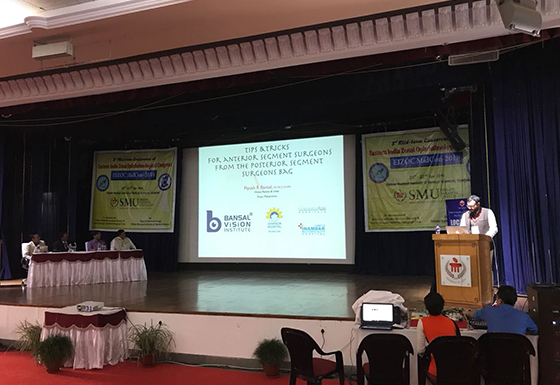 Invited faculty lecture at EIZOC, Gangtok, Sikkim