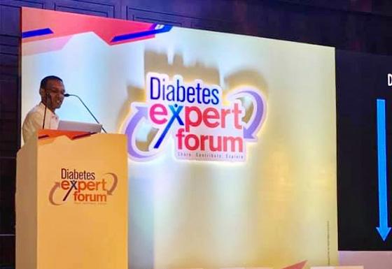 Lecture at Diabetes Expert Forum