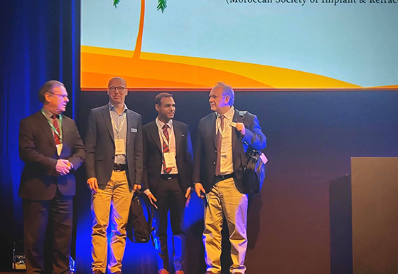 Presenting at the ESCRS conference in Marrakesh Morocco